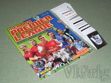 2007 2008 Barclays Premier League Merlin - empty album + set (ALL 648 stickers)