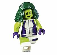 2017 LEGO Marvel SUPER HEROES green she hulk girl Minifigure New from set 76078