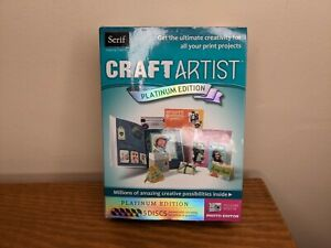 New Serif Craft Artist Platinum Edition Sealed 2010
