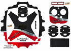 Red Black Honeycomb DJI Phantom 4 P4 Skin Wrap Decal Sticker Vinyl Ultradecal