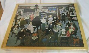 Vtg PUZZLE THE PIANO RECITAL1992 Springbok Gosieski1st in series 500pcs SEALED