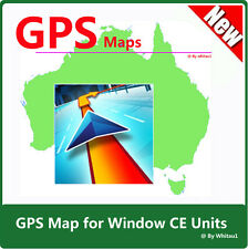 Austraila & NZ Car GPS Map 2017 Q2 for WindowsCE Units on CD
