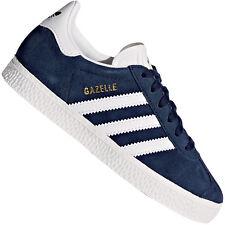 adidas Originals Gazelle Children Kids SNEAKERS Trainers Low Shoes Suede EUR 30 (uk 11 5k) Navy BY9162