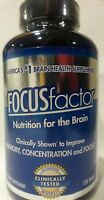 FOCUS Factor Brain Health Supplement (150 Tablets) Memory,Concentration & Focus