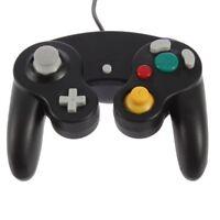 Black Controller For Nintendo GameCube GC & Wii New Classic Joypad