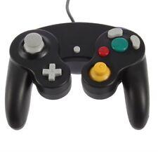 CONTROLLER NERO per NINTENDO GAMECUBE GC e Wii Nuovo Classico Joypad