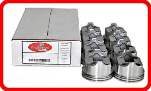 1968-1973 Ford 429 7.0L OHV V8  (8)DISH-TOP PISTONS  030 040 060