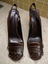 MARC BY MARC JACOBS WOMEN'S SUEDE LEATHER SHOES ITALY SIZE 37.5 / 7.5