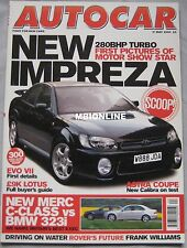 AUTOCAR 17/5/2000 featuring Subaru, Mitsubishi,Vauxhall Astra Coupe,BMW,Mercedes