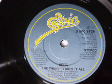 "ABBA ~ THE WINNER TAKES IT ALL ~ NEAR MINT 1980 UK 7"" VINYL SINGLE ~ NICE AUDIO"