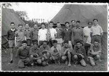 MALICORNE (72) EQUIPE JOUEURS de FOOTBALL , carte-photo en 1955