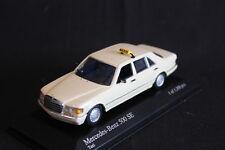 Minichamps Mercedes-Benz 500 SE 1979 1:43 Taxi (JS)