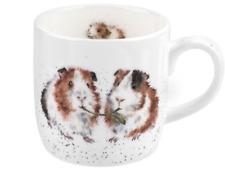 """Wrendale """"lettuce be friends"""" - guinea pig mug"""