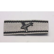 WWII WW1 German Luftwaffe Low Flying Aircraft Destruction Badge in silver