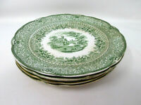 Antique Ridgway/Ridgways GRECIAN Pattern Salad Plate - Set of 5 - Imperfections