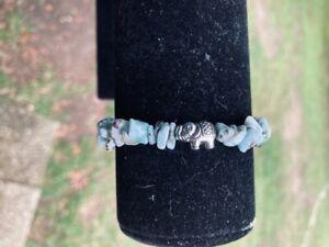 larimar stretch bracelet