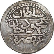 O1614 Algérie 1/4 Boudjou Mahmoud II AH 1238 1823 Silver ->F offre