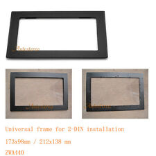 Universal frame for 2-DIN installation Car Radio fascia Facia Panel