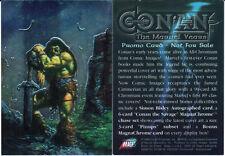Conan The Marvel Years All-Chromium promo card
