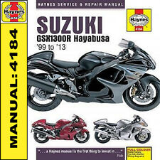 Suzuki Hayabusa GSX1300R GSX1300 1999-2013 Haynes Manual 4184 NEW