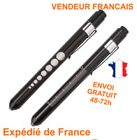 OTOSCOPE  STYLO LAMPE DIAGNOSTIC MEDICAL NOIR neuf x1