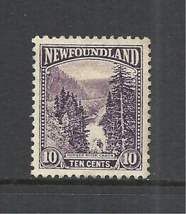 NEWFOUNDLAND SCOTT 139 MNG VF/XF - 1923 10c DK VIOLET ISSUE A  CV $4.50