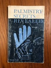 Vintage Palm Reading Book Palmistry Secrets Revealed by Henry Frith 1971 Edition