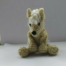 Ruth the palomino pony  mini amigurumi handmade soft  crochet toy