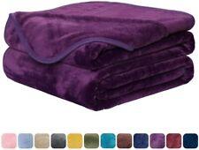 350Gsm Fleece Blanket Luxury Antistatic Soft Fuzzy Bed Sofa Throw Blanket