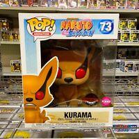 Funko Pop Naruto Shippuden : KURAMA #73 Flocked Vinyl Special Edition Sticker