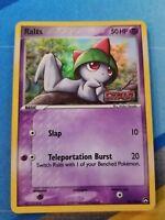 1x Ralts 59/108 EX Power Keepers Set REVERSE HOLO LP Pokemon