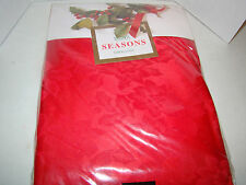 "Bardwil Seasons Tablecloth - New in Package - 70"" Round - Red"
