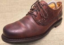 Men's Shoes VINTAGE Havana Joe Leather Oxfords Brown Lace Up Size 9-9.5 Eur 43