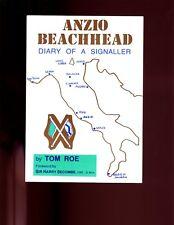 ANZIO BEACHHEAD - Diary of a Signaller. Tom Roe ( 78th Field Regt)   VG SB