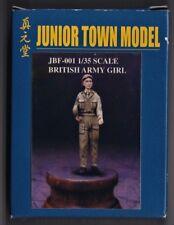 JUNIOR TOWN MODEL JBF-001 - BRITISH ARMY GIRL - 1/35 RESIN KIT - NUOVO
