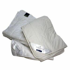 Sommer Bettdecke dünn 100% Seide BILLERBECK WILDSEIDE Seidendecke 30° Wäsche