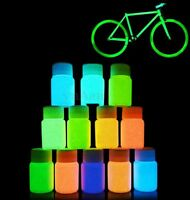 30g UV Paint Glow Luminous Graffiti Pigment Bright Party Cycling Decor 12 Colors
