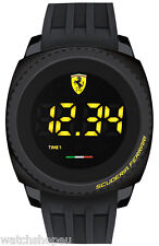 NEW SCUDERIA FERRARI 0830229 MENS TOUCH WATCH - 2 YEARS WARRANTY