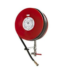 """Fire Hose Reel 19mm x 36M """" Black Hose. FIS Brand FREE DELIVERY"""