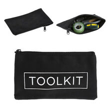 Black Oxford Cloth Tools Set Bag Zipper Storage Instrument Case Pouch Waterproof