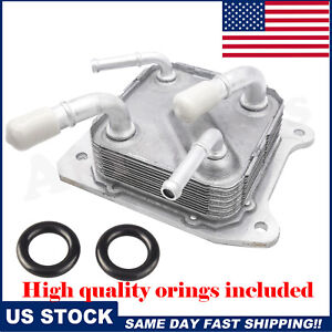 21606-28X0B CVT Transmission Oil Cooler with O-rings for Nissan 2013-2017