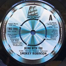 Smokey Robinson - Being With You / What's In Your Life For Me - TMG-1223 Ex