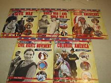Lot of 5 New American History Arts & Crafts series