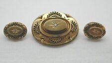 Diamond Yellow Gold Vintage Fine Jewellery (Unknown Period)