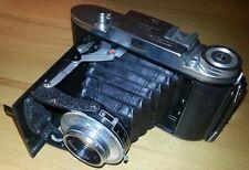 Voigtländer Bessa I mit 1:4,5 / 105 mm Vaskar / Prontor S Rollfilmkamera Tasche