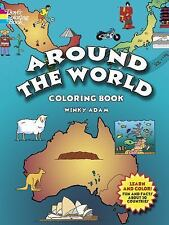Dover History Coloring Book: Around the World Coloring Book by Winky Adam...