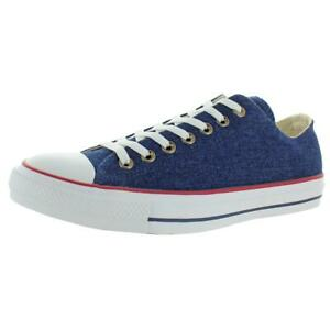 Converse Mens CTAS Ox Blue Trainers Sneakers Shoes 10.5 Medium (D) BHFO 2320