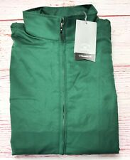 Cutter & Buck Men's CB Weathertec Whidbey Jacket Hunter Green Polyester Size XL