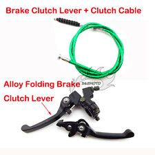 Green Brake Clutch Lever Cable For Chinese Pit Pro Dirt Bike KLX110 SSR TTR YCF