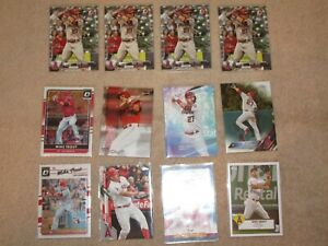 LOT OF 42 MIKE TROUT CARDS AWESOME LOT